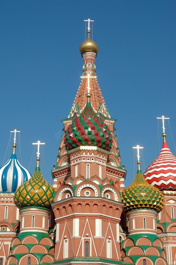 St basile katedra, plac czerwony, Moskwa, Rosja obraz royalty free