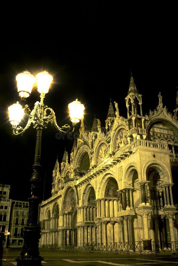 St Basilica Venezia del contrassegno immagini stock libere da diritti