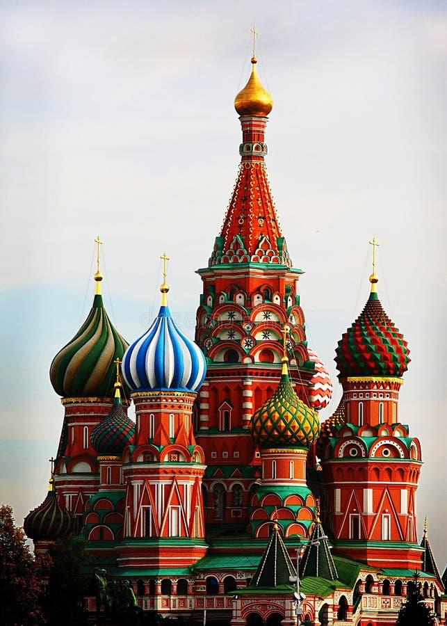 St Basilico a Mosca immagini stock