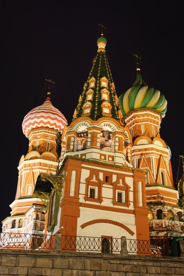 St-basilicum in Moskou royalty-vrije stock fotografie