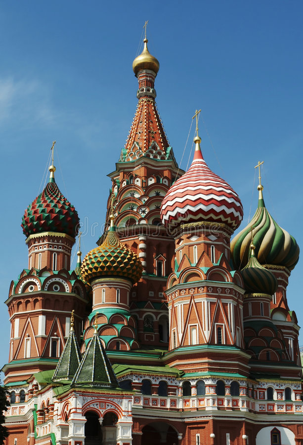 Download St.Basils cathedral,Moscow stock image. Image of famous - 2957639