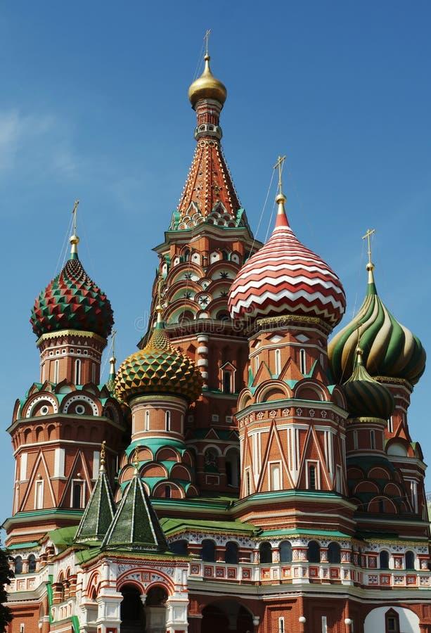 St.Basils kathedraal, Moskou royalty-vrije stock afbeeldingen