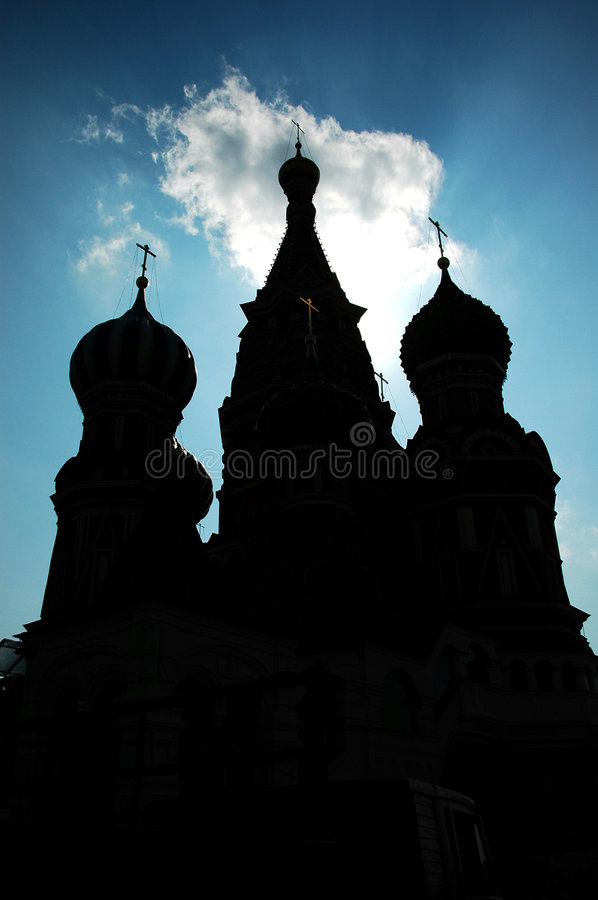 St. Basils's Cathedral stock photography