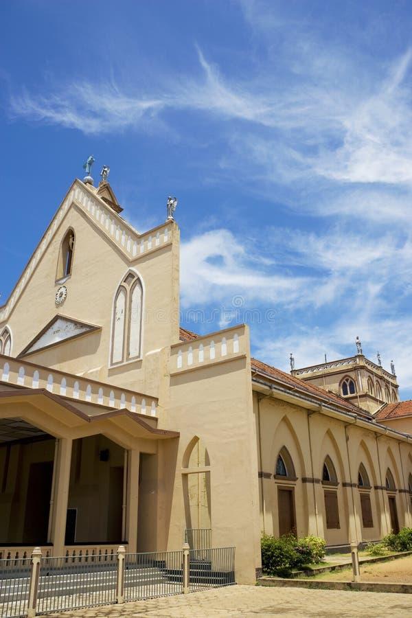 St. Bernadette Kerk, Chilaw, Sri Lanka royalty-vrije stock afbeeldingen
