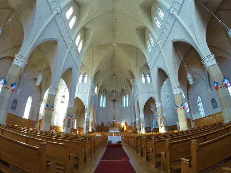 St Bernard kościół, nowa Scotia zdjęcie royalty free