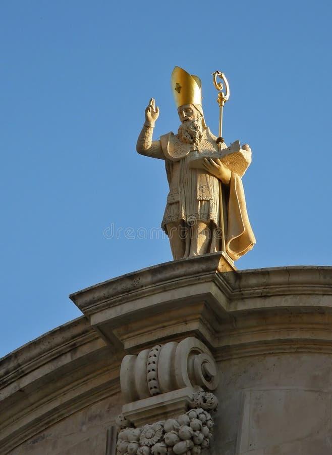 ST Blasius - Dubrovnik στοκ φωτογραφίες με δικαίωμα ελεύθερης χρήσης