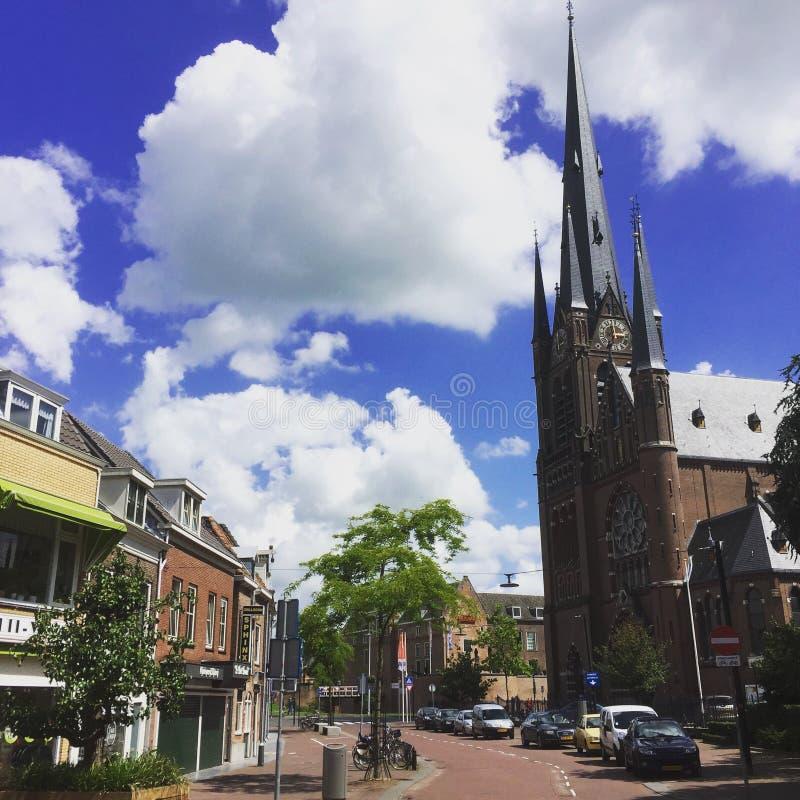 St Bonaventure Church in Woerden stock foto's