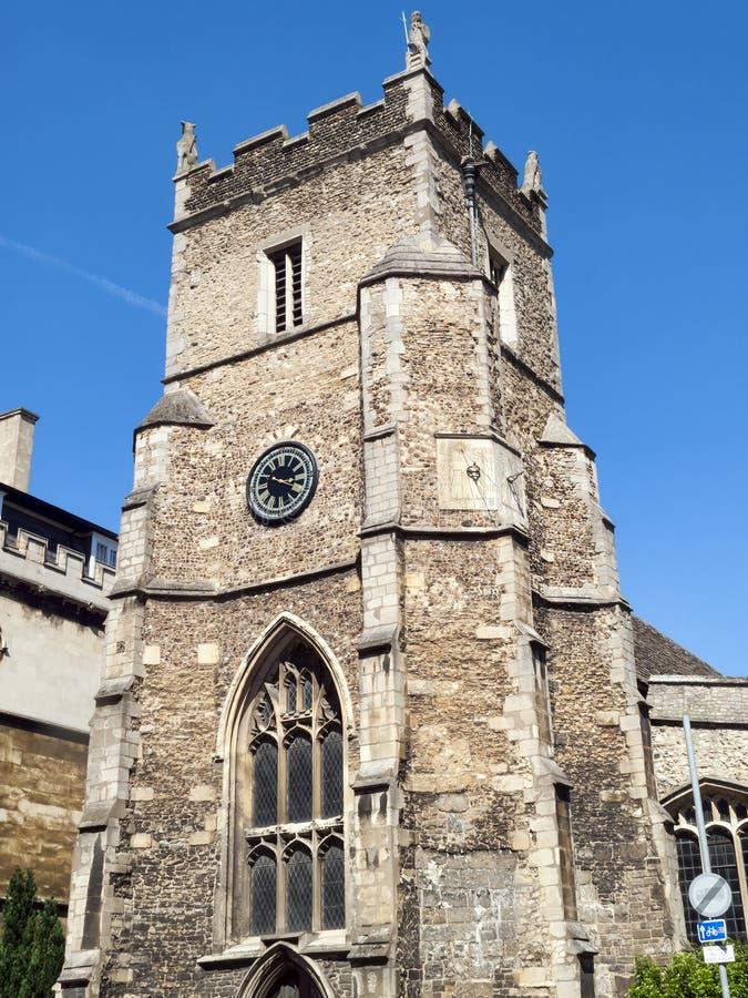 St Botolph ` s教区教堂 免版税库存照片
