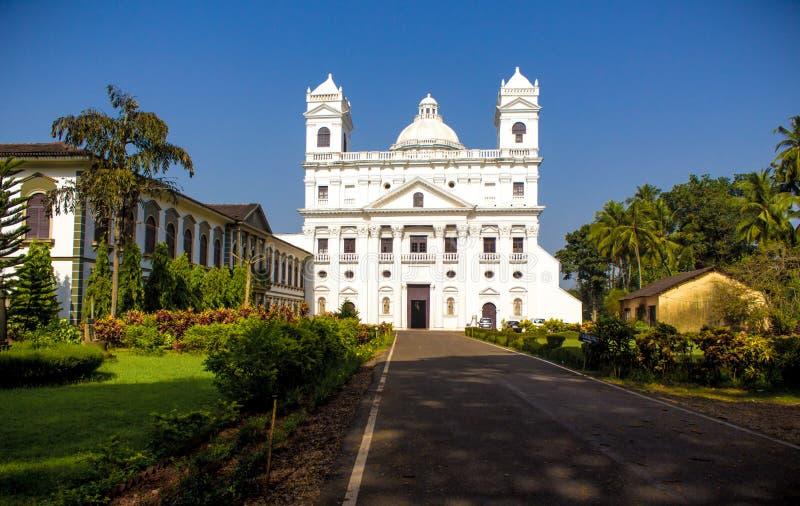 St Cajetan Church, vecchio Goa fotografie stock libere da diritti