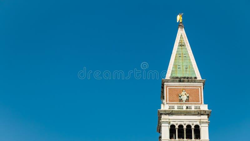 St Campanile van het Teken, Venetië, Italië royalty-vrije stock foto