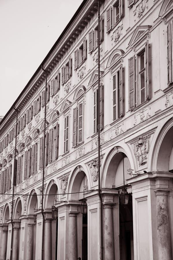 St Carlo Square in Turijn stock foto's