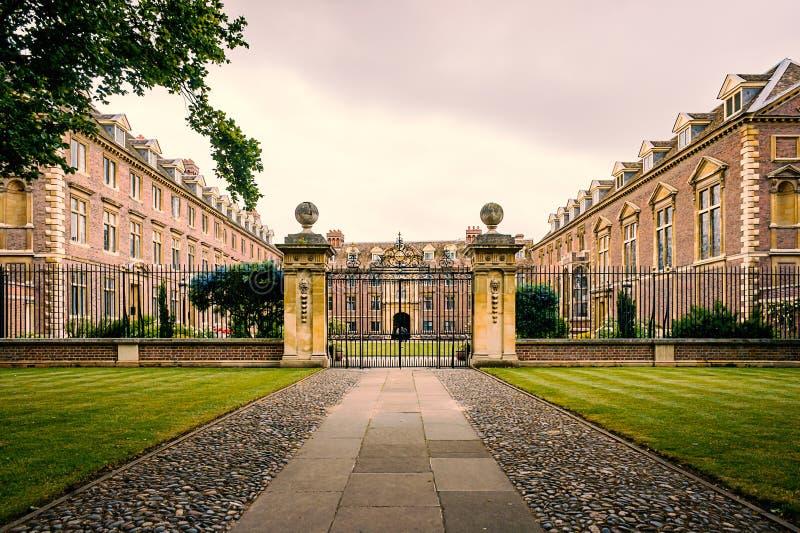 St Catharine's Universiteit royalty-vrije stock foto's