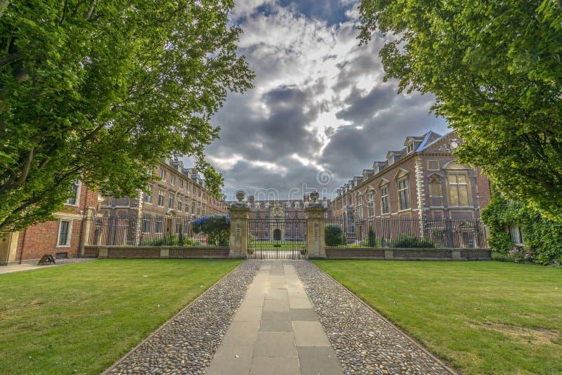 St Catharine Universiteit bij de Universiteit van Cambridge royalty-vrije stock fotografie