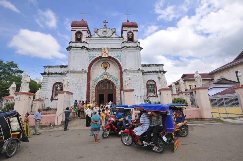 St. Catherine of Alexandria Church stock photo