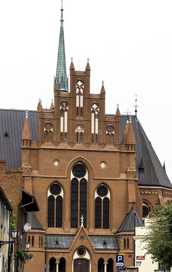 St. Catherine of Alexandria church in Torun royalty free stock photos