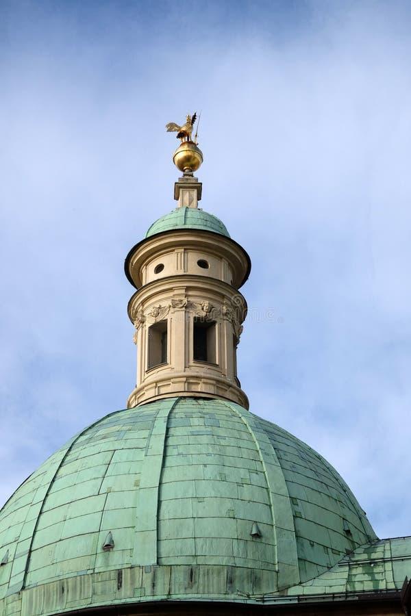 St Catherine kościół i mauzoleum Ferdinand II, Graz obraz royalty free