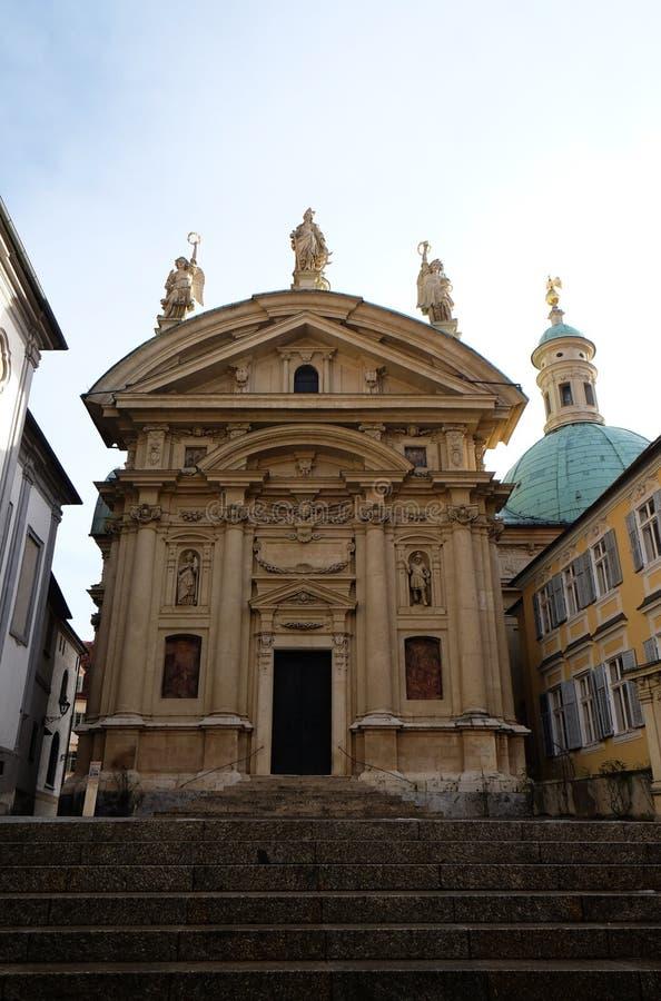 St Catherine kościół i mauzoleum Ferdinand II, Graz zdjęcia stock