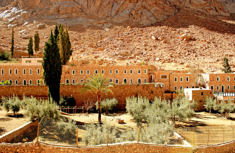 Download St. Catherine monastery stock photo. Image of church, catherine - 5585604