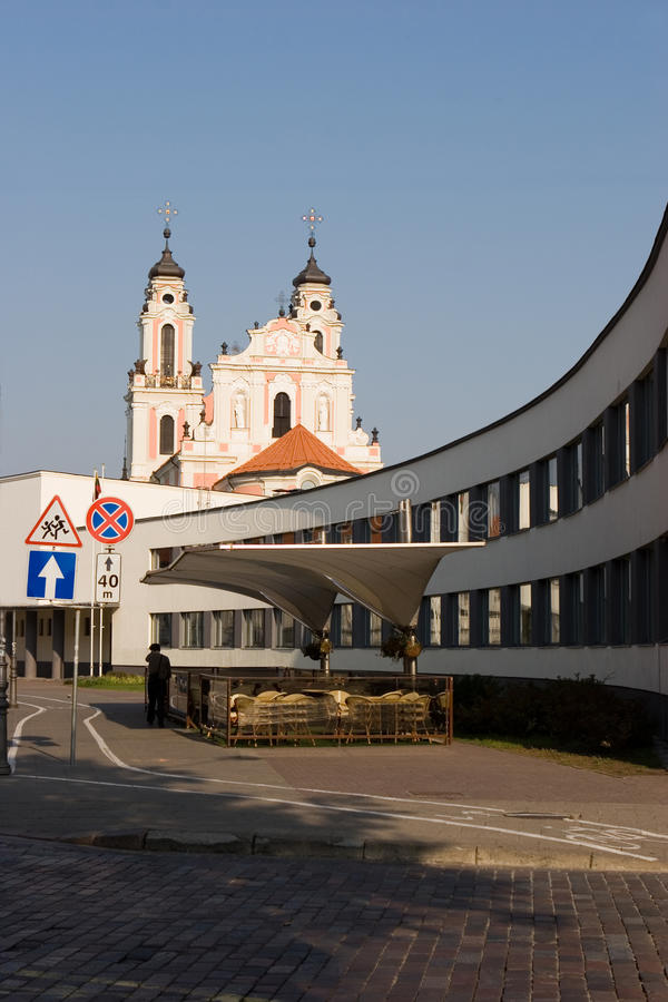 Download St. Catherine's Church stock photo. Image of lithuanian - 12158210