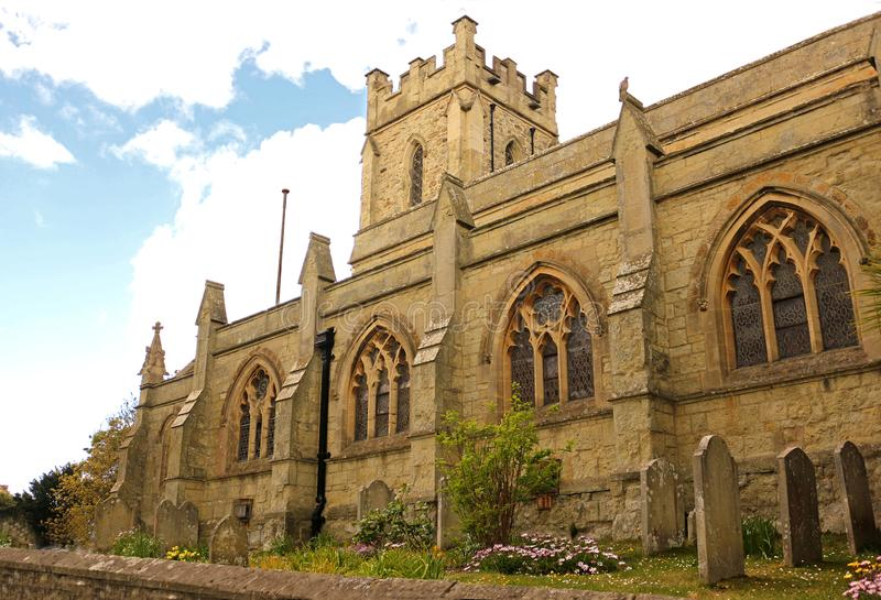 St Catherine`s Church, Ventnor, Isle of Wight. St Catherine`s Church in Ventnor on the Isle of Wight royalty free stock photo