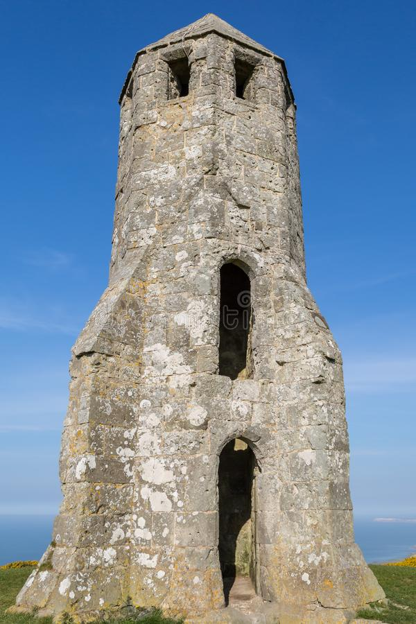 Free St Catherine`s Oratory On The Isle Of Wight Stock Image - 147988171