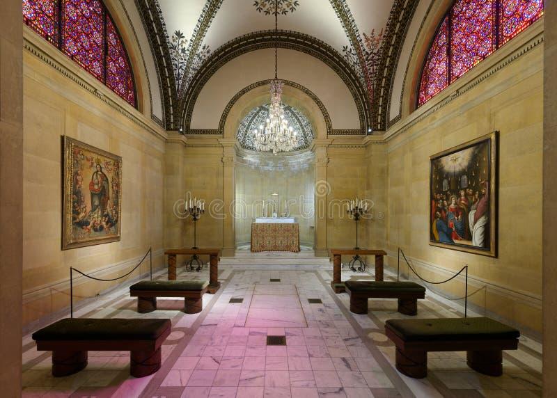 St Cecilia katedry kaplica obraz stock