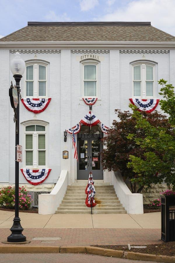 St Charles County, Missouri EUA - câmara municipal 05 25 2019 velha foto de stock