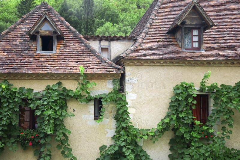 St.Cirq de Lapopie, France photographie stock