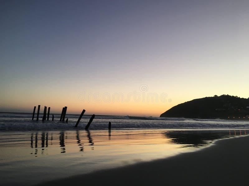 St Clair Beach fotografia de stock