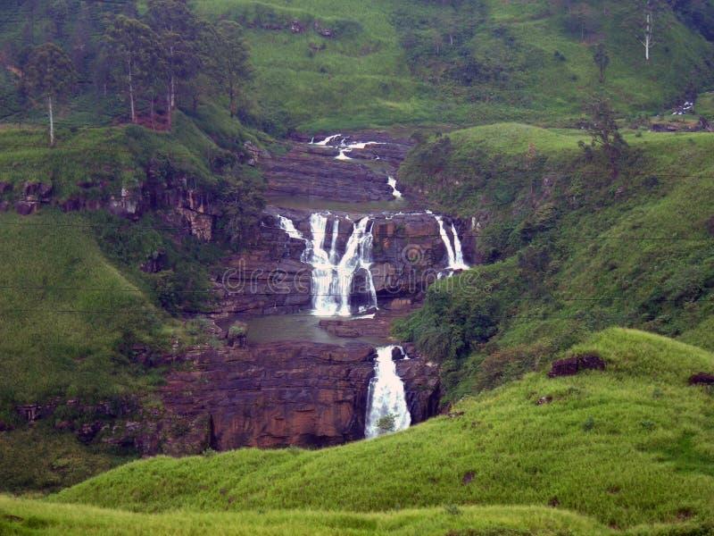 St Clairs fall Sri Lanka royalty free stock image