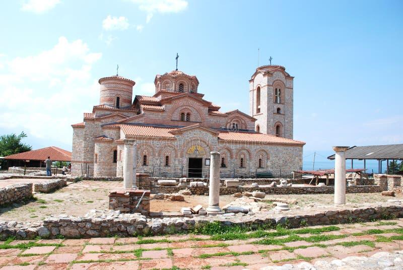 Download St  Clement S Church - St  Panteleimon, Ohrid, Mac Editorial Stock Photo - Image: 24660828