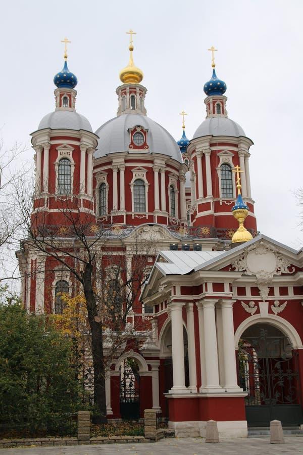 St Clements Church, Moskou royalty-vrije stock foto