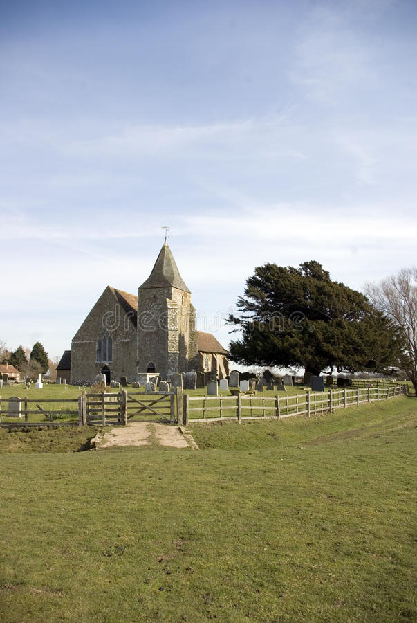 St Clements Church Old Romney. Royalty Free Stock Photos