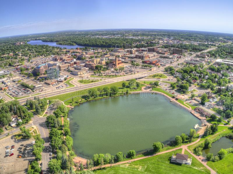 St. Cloud University is a College on the Mississippi River in Central Minnesota.  royalty free stock image