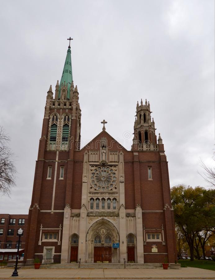 St Columbanus obraz royalty free