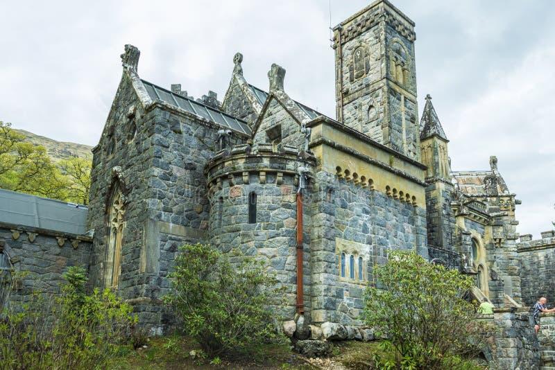 St Conan ` s教会古迹 库存照片