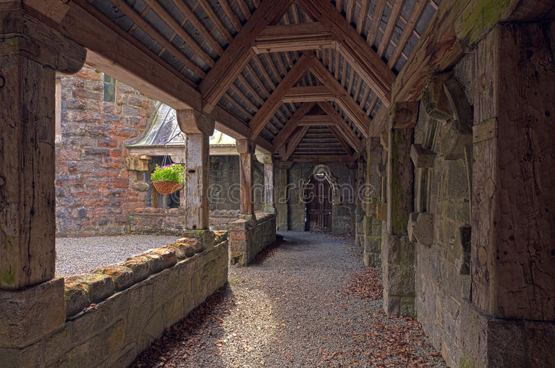 Download St Conans Kirk stock image. Image of plant, argyll, roof - 15672935