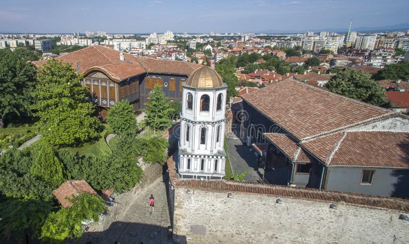 St Constantin en Helena, Plovdiv, Bulgarije, 23 Oktober 2018 stock afbeeldingen