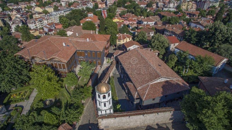 St Constantin en Helena, Plovdiv, Bulgarije, 23 Oktober 2018 royalty-vrije stock afbeeldingen