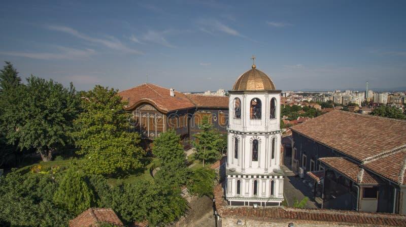St Constantin en Helena, Plovdiv, Bulgarije, 23 Oktober 2018 royalty-vrije stock foto's