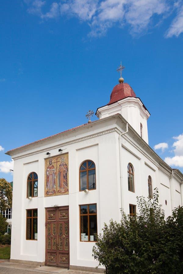 St. Constantin & Helen Church. In Iasi city, Romania royalty free stock image