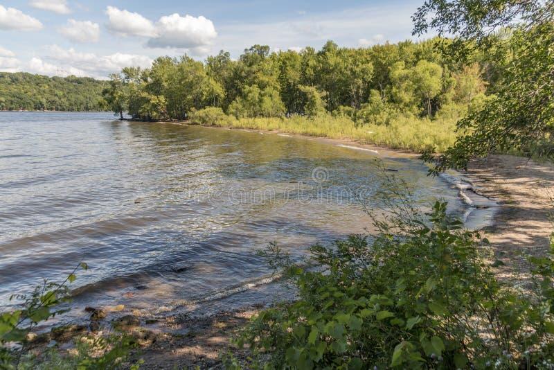 St Croix River Beach imagen de archivo libre de regalías