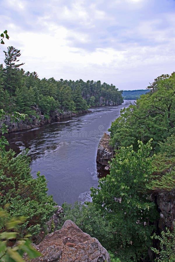 St Croix rzeka fotografia stock