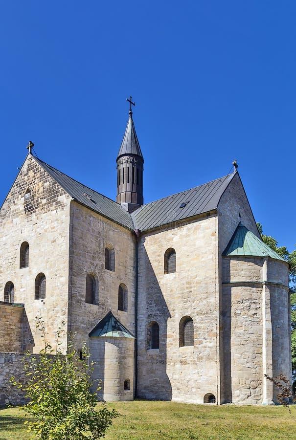 St Cyriakus, Gernrode, Germania fotografie stock