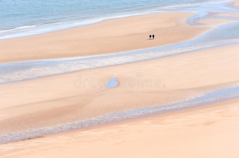 Download St Cyrus Beach editorial stock image. Image of walking - 23110469