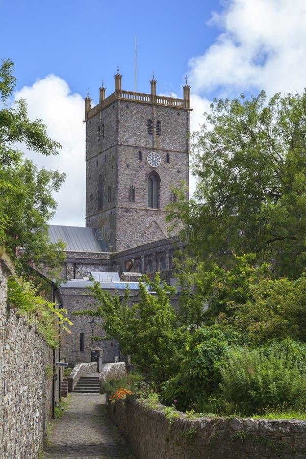 St David & x27; cattedrale di s immagine stock libera da diritti