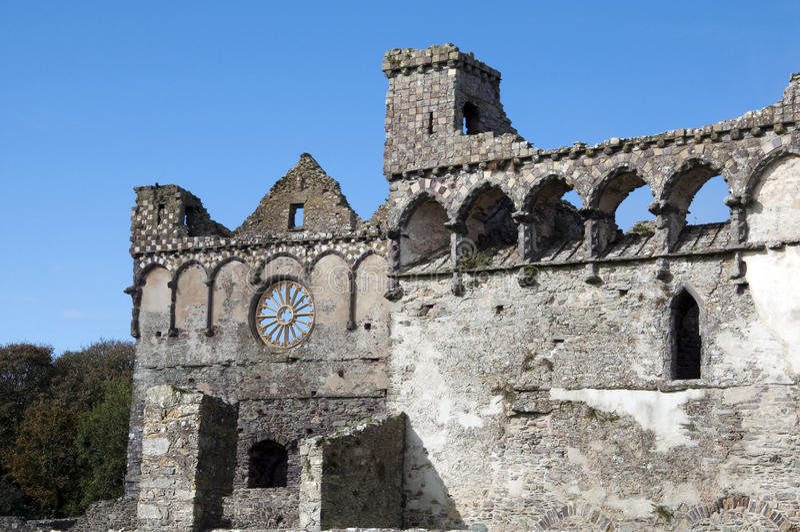 St Davids do palácio dos Bishops imagem de stock royalty free