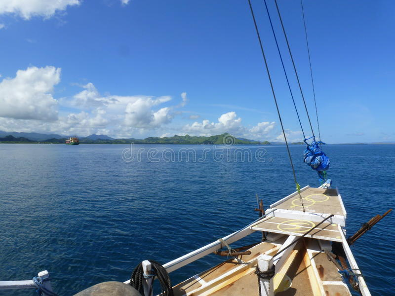 1st day on the boat. Flores is located east of Sumbawa and Komodo and west of Lembata and the Alor Archipelago. To the southeast is Timor. To the south, across stock photography