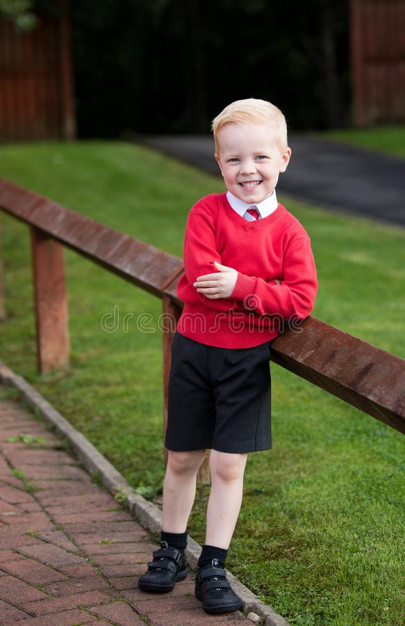 1st day at school stock image