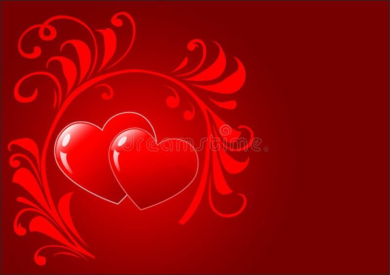 St. de achtergrond van de valentijnskaartendag royalty-vrije stock afbeeldingen
